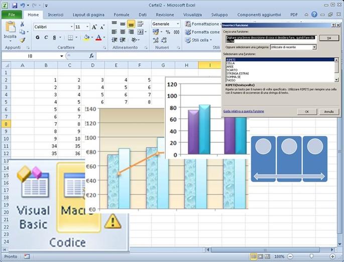Excel che cos e cosa fa for Software di pianificazione del garage