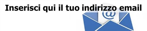 Newsletter Inserisci Indrizzo E Mail